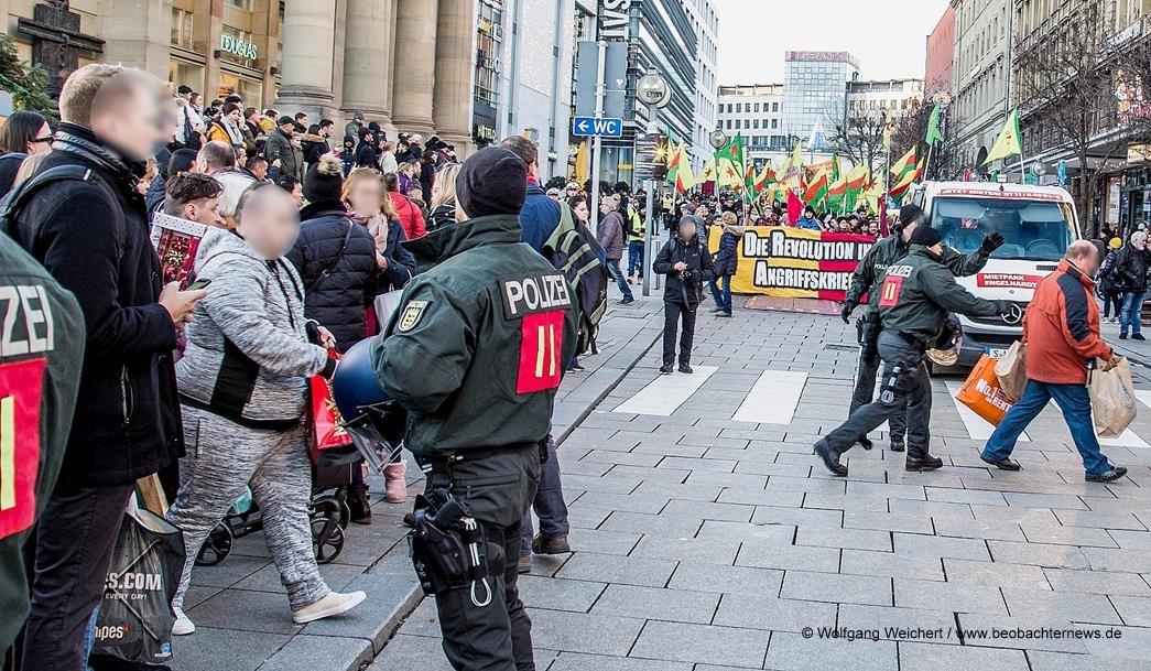 Protestierte